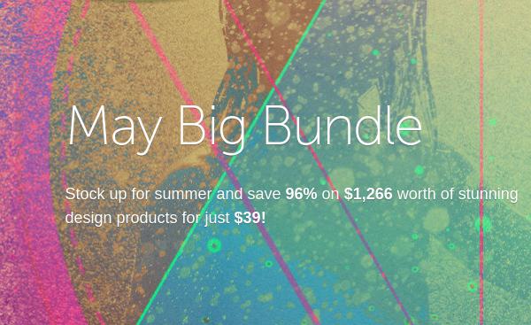 May Big Bundle from Creative Market