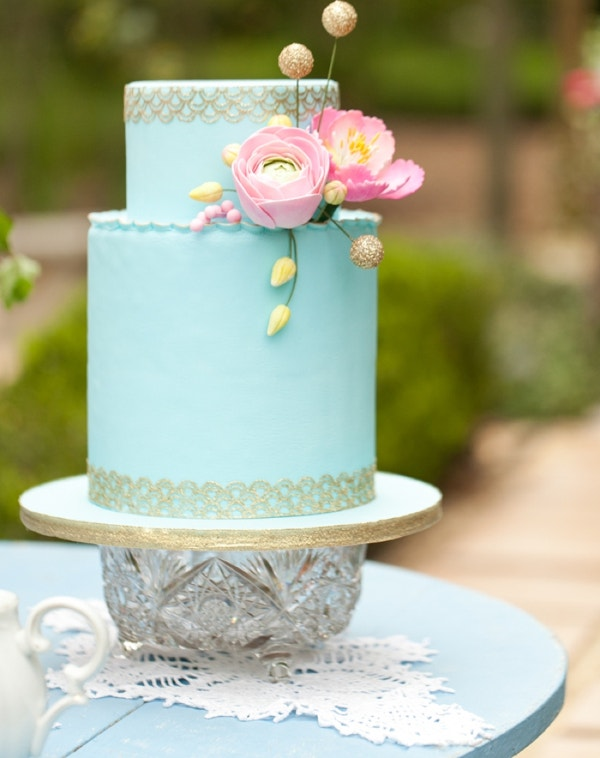 cool flowers wedding cake ideas