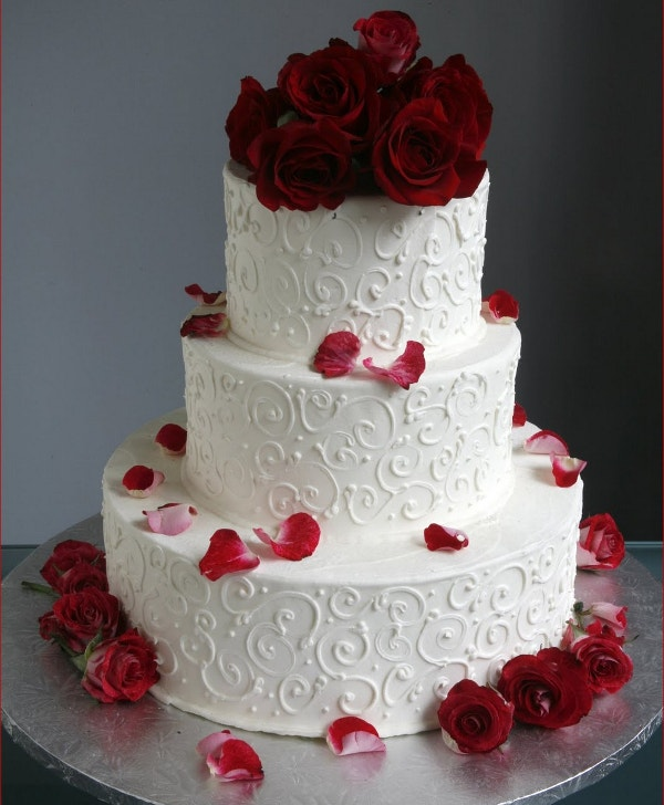 Wedding cake decoration ideas photo