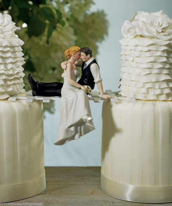 Unique Wedding Cake Topper Design Awesome