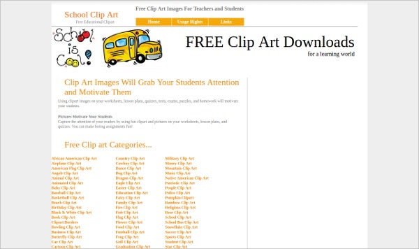 Top 15 Clipart Websites which are Absolutely Free! | Free ...