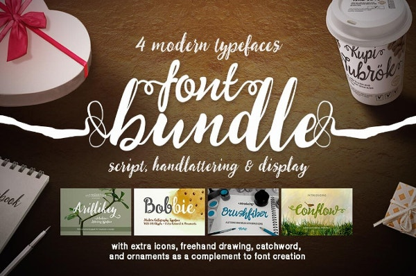 Amazing Font TypeFace Deals from Mightydeals