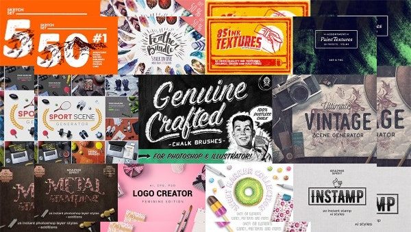 Creative Design Bundle for Graphic Designers - 96% OFF