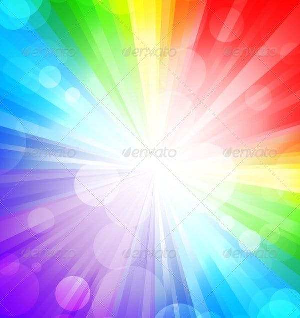 gradients and transparency rainbow background