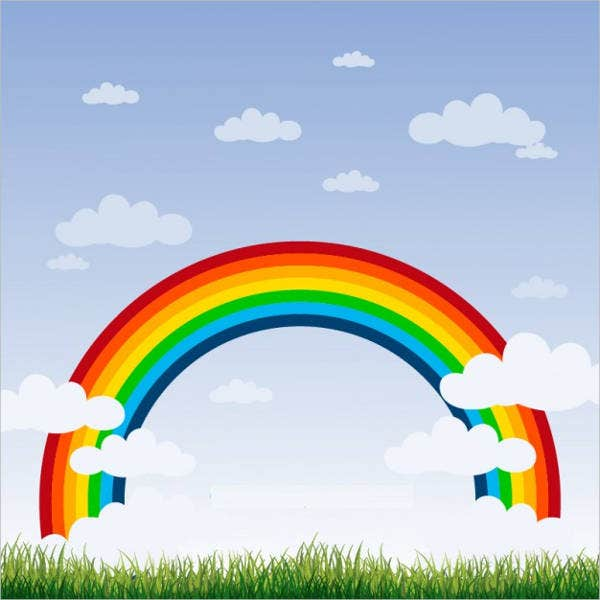 sky-rainbow-background-vector