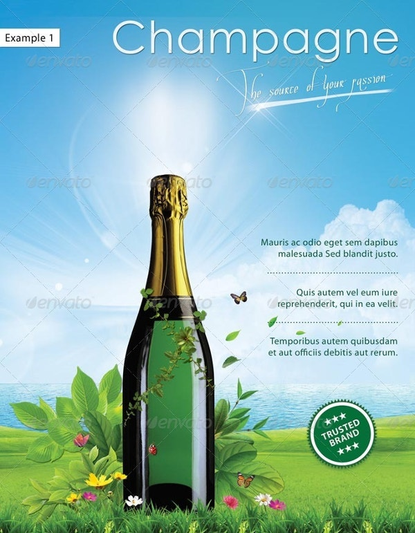 green advertising poster creative design download