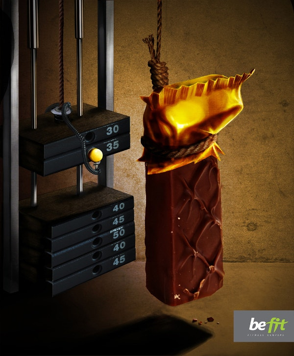 chocolate creatie ad poster