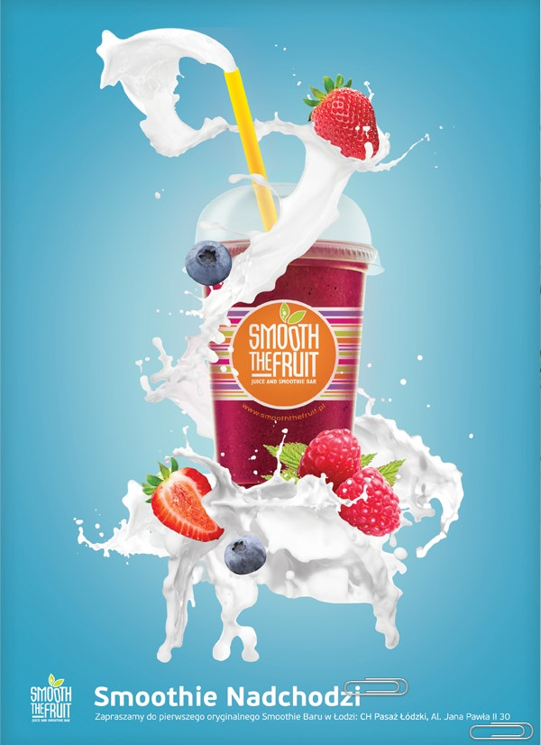 smooth the fruit ad poster download