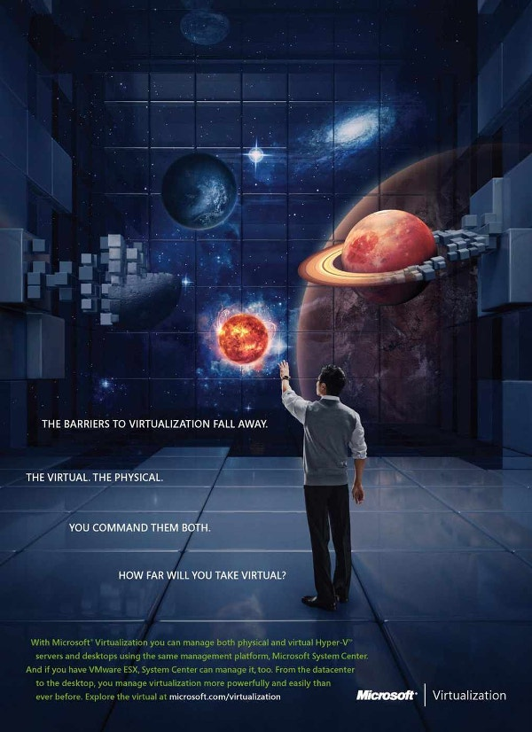 microsoft universe creative ad poster download