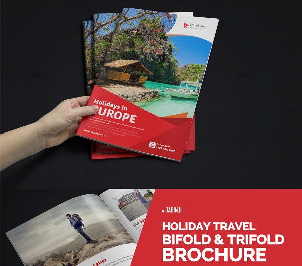Modern Elegant Travel Brochure Template