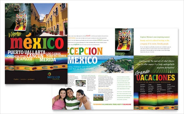 Best Mexico Travel Brochure Template