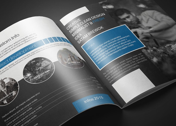 creative brochure template - travel brochures 18 psd ai vector eps format download