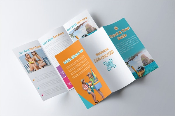 Tour Guide Travel Brochure