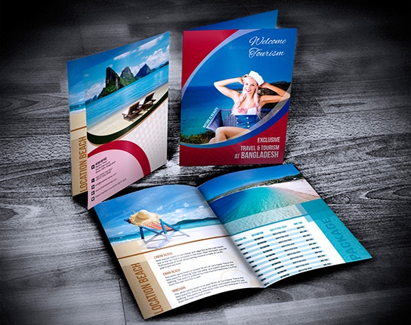 corporate travel brochure template