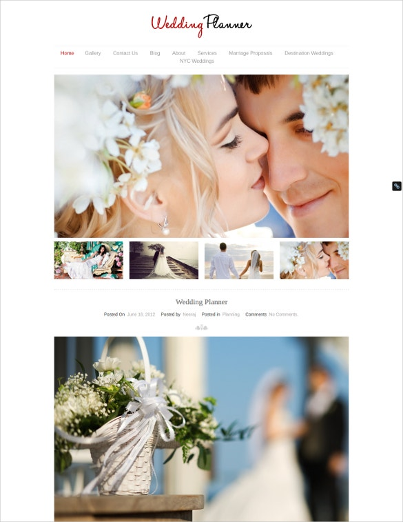 55+ Wedding WordPress Themes & Templates for Wedding Agency ...