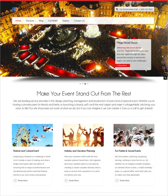 evento event wordpress theme