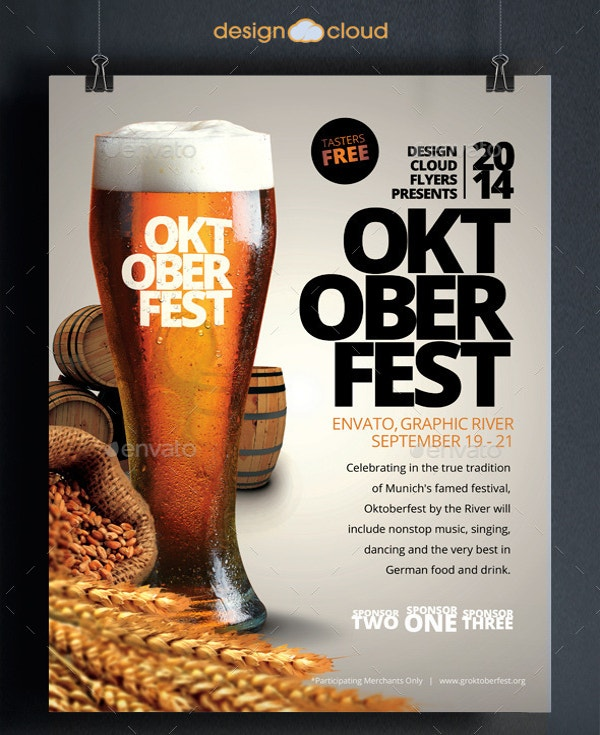 perfect oktoberfest event flyer