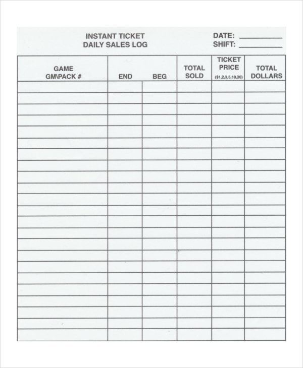 Daily-Sales-Log-Template