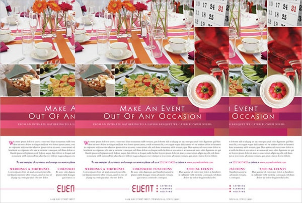 corporate event planner template