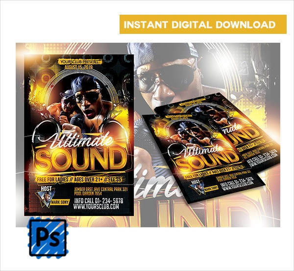 Event Music Flyer Template