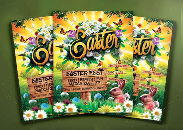 Beautiful Easter Event Flyer
