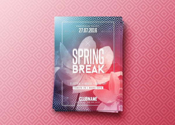 Indesign Spring Party Flyer
