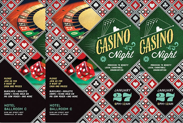 Perfect Casino Night Flyer