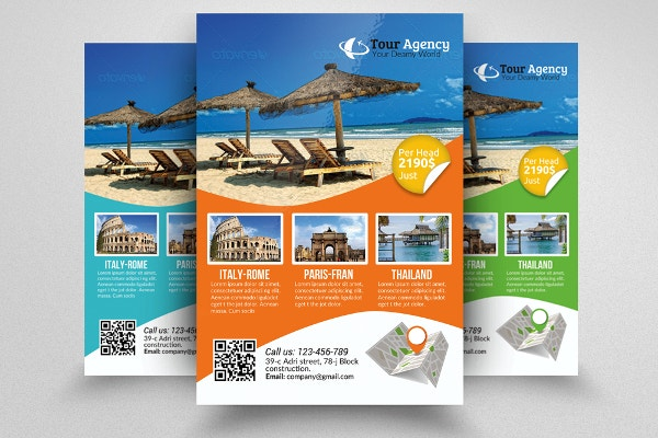 Free Travel Agency Template
