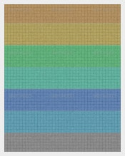 Colored-Grid-Writing-Paper-Template