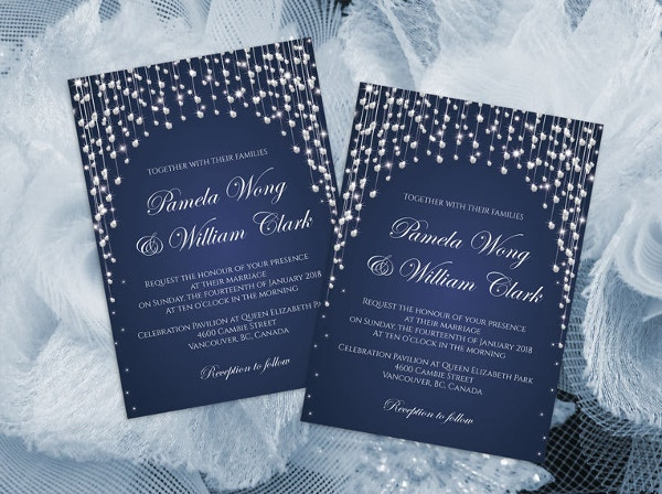 diy printable wedding invitation card template ms word format