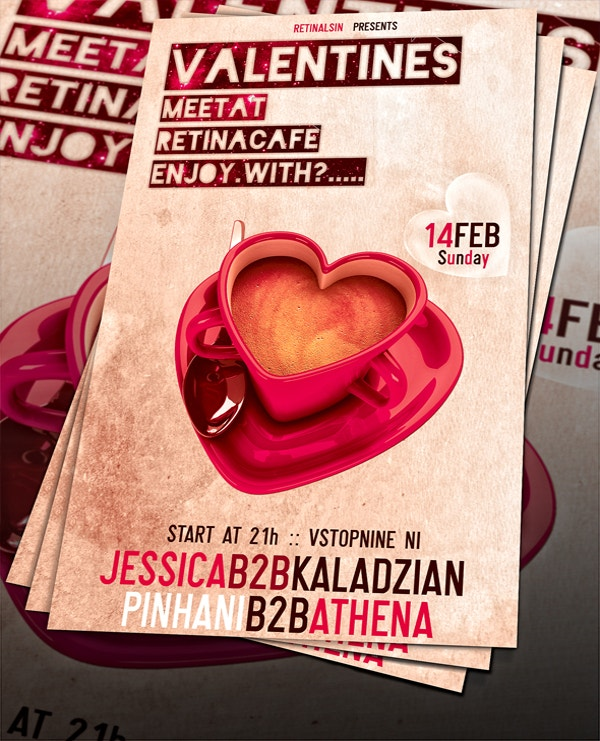 Free Valentines Flyer Template