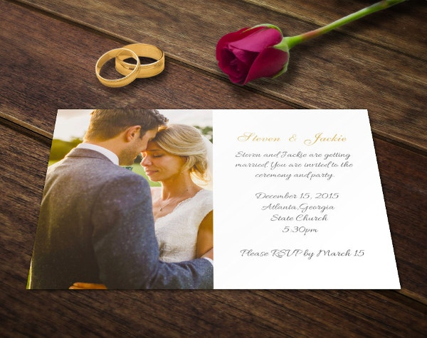 wedding invitation card template photoshop firl download