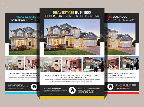 Realtor Brochure Template. Real Estate Agent & Realtor Brochure
