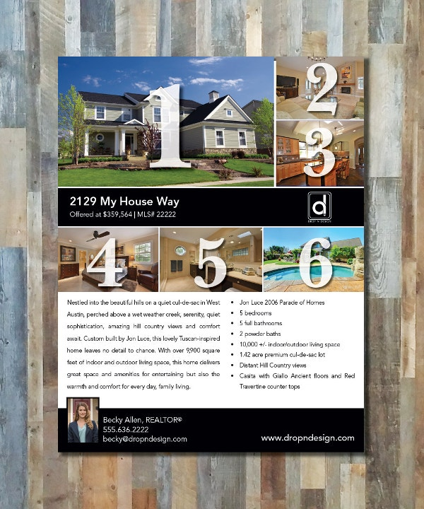 real estate flyers 30 free pdf psd ai vector eps format