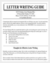 Letter Writing Guide PDF Format Free Download