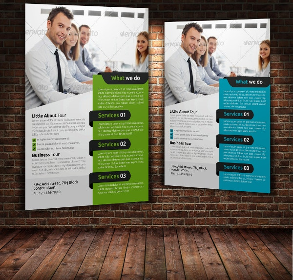 28  free business flyers