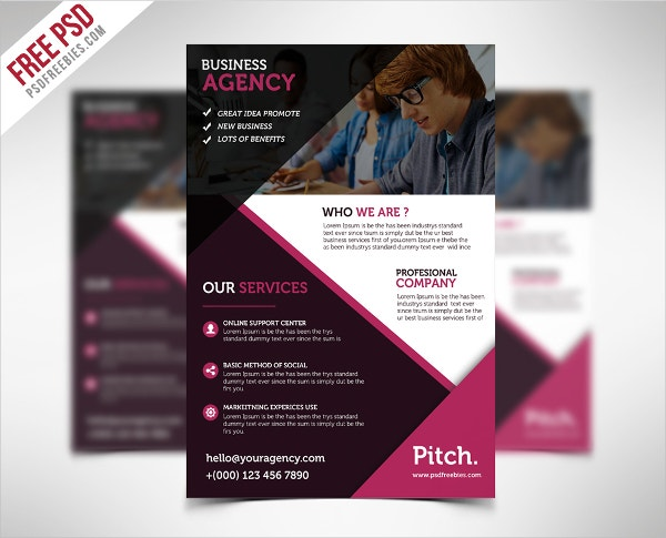 Business Flyers 21 Free Pdf Psd Ai Vector Eps Format Download