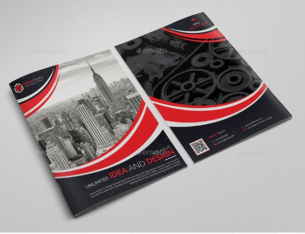 21+ Beautiful Examples Of Bi Fold Brochures To Inspire You! | Free