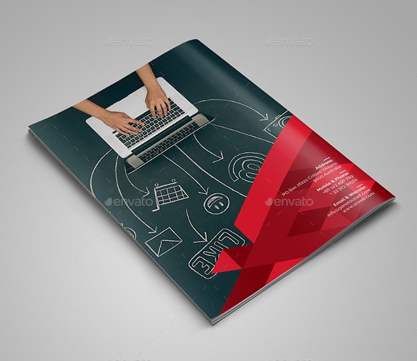 Customizable Corporate Bi-Fold Brochure