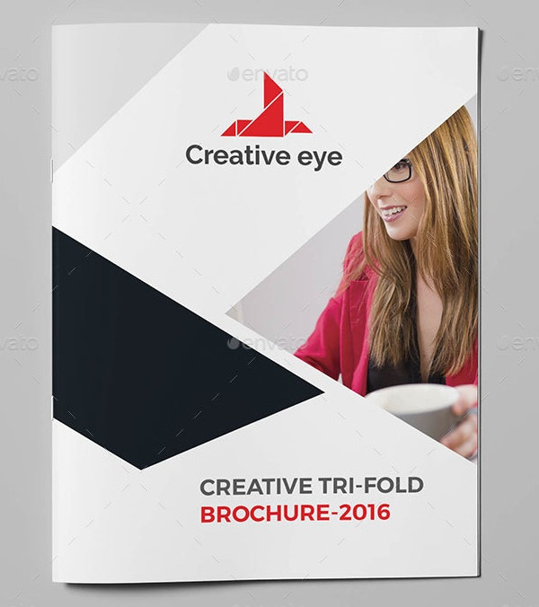 Smart Bi-fold Brochur PSD Editable