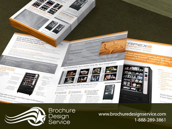 Presentation Bi-Fold Brochure Template