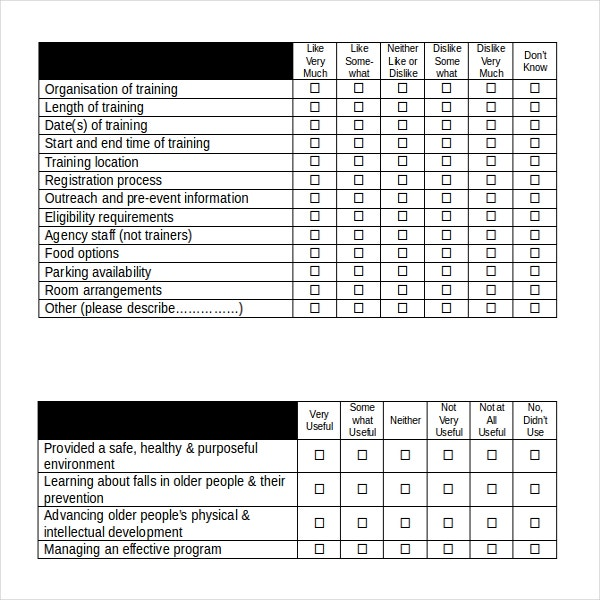 Employee Survey Template Employee Satisfaction Survey Report