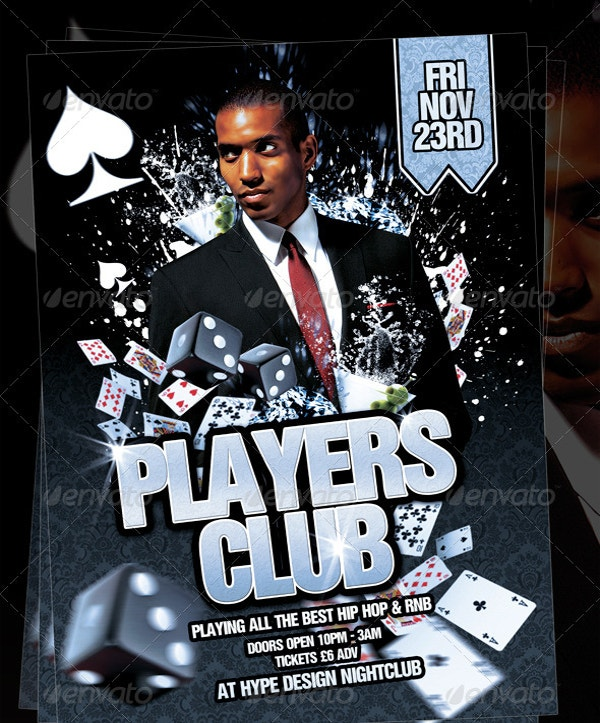 Perfect Players Club Flyer