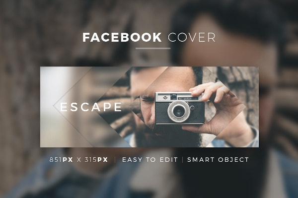 Multipurpose Facebook Cover Template
