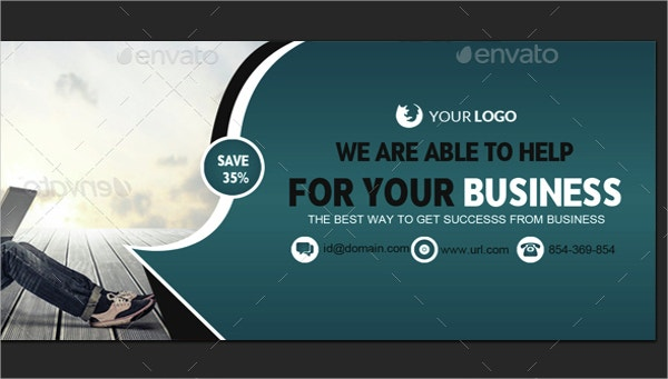 Corporate Facebook Cover Template