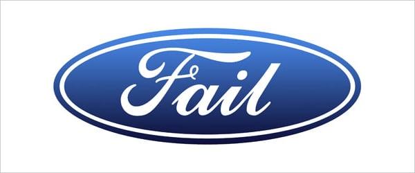Ford - Fail