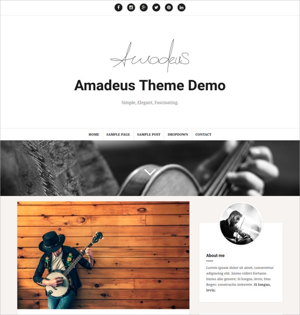 Free Responsive WordPress Blog Theme