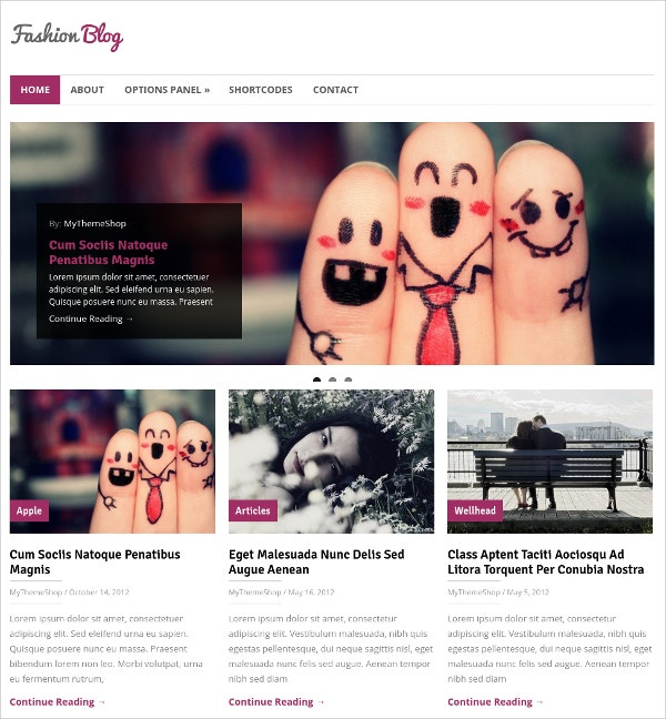 Clean & Designed WordPress Blog Theme