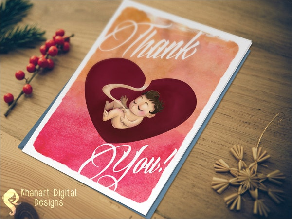 handmade thank you card for nurses