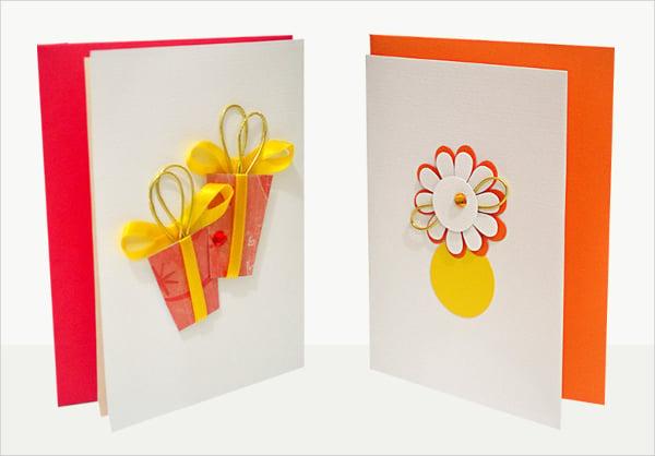 Handmade Birthday Thankyou Card